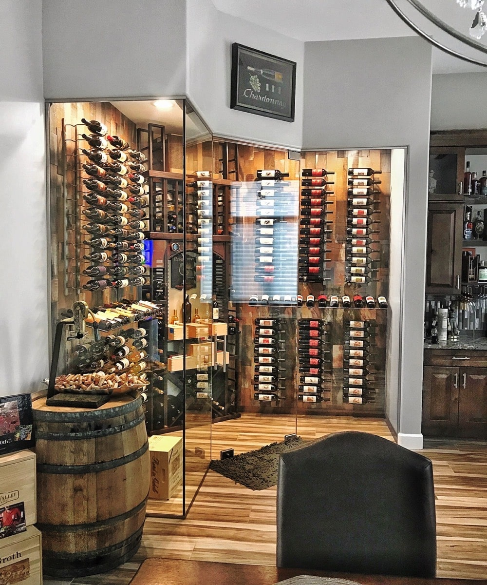 Amazing Wine Cellar Display Case