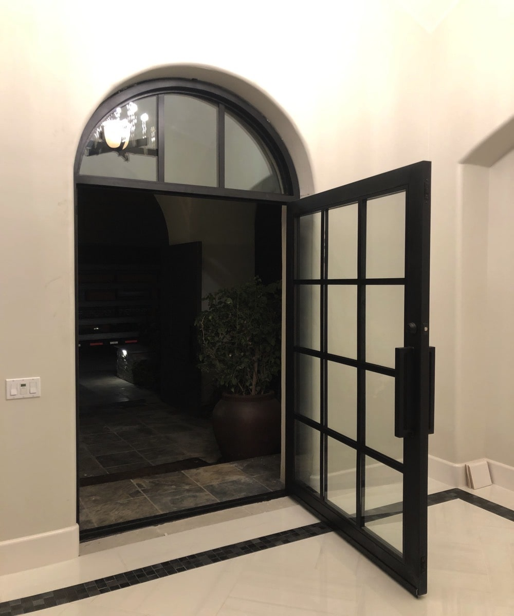 Large Glass Residential Door