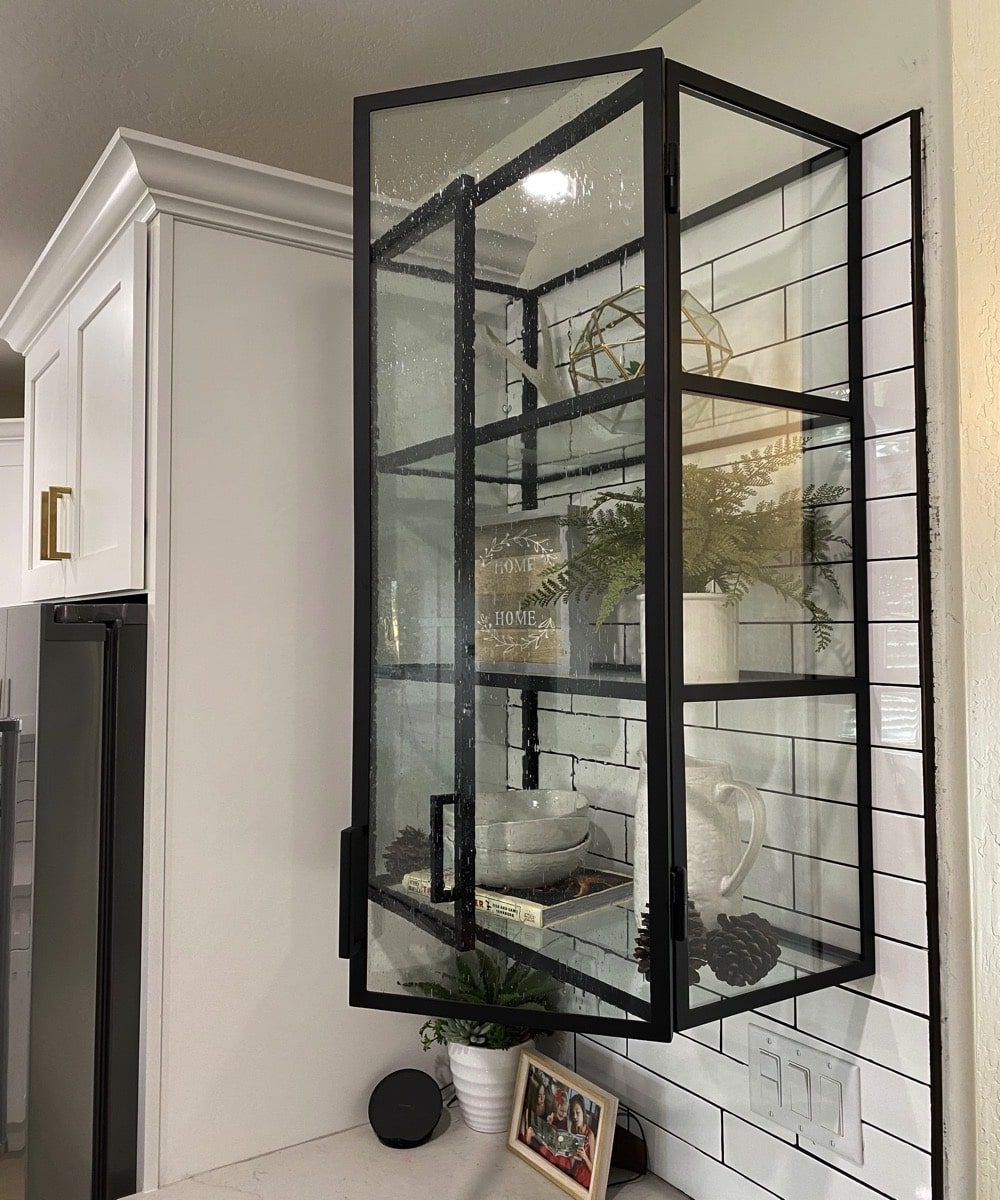 Glass And Iron Cabinets