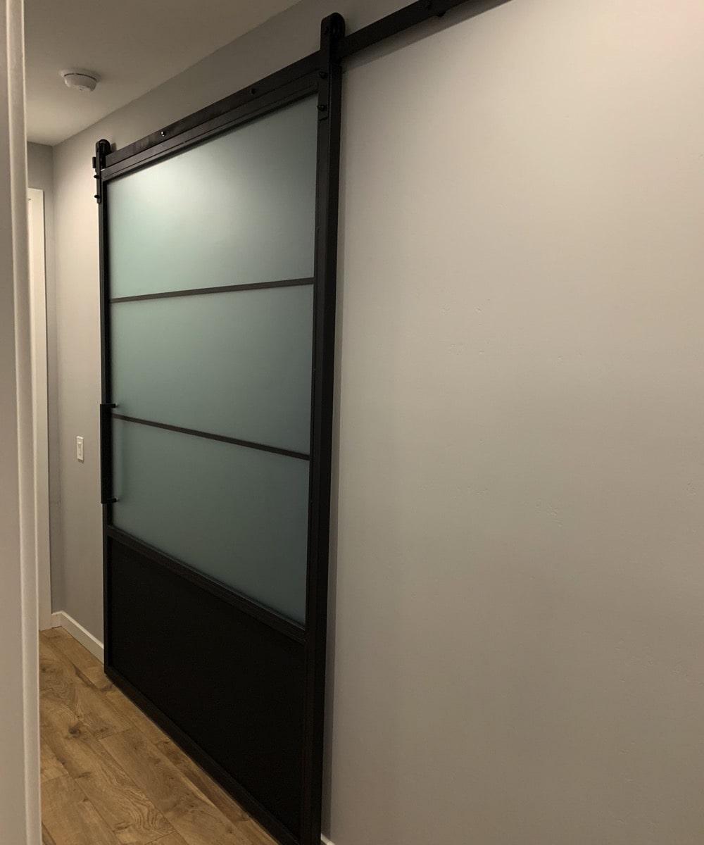 Glaze - Frosted Glass Sliding Door